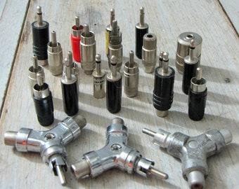 scrap stero wire plugs