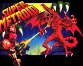"Super Metroid 36 x 24"" Video Game Poster"