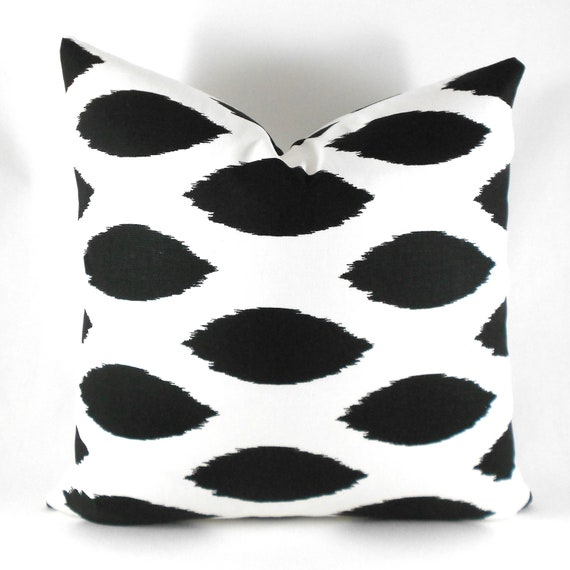 Items similar to Black Pillow Covers ANY SIZE Decorative Pillows Pillow Inserts Best Pillow ...