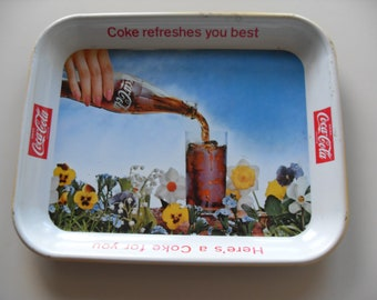 Vintage Coke Serving Tray,1960's