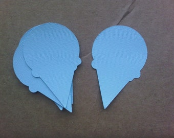 Ice Cream Cone Paper Cut-out