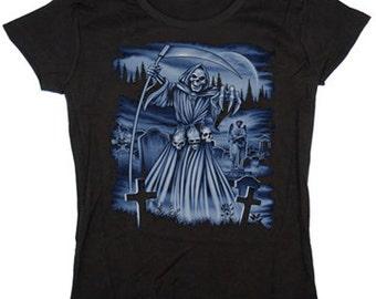 Ladies t-shirt / Grim Reaper