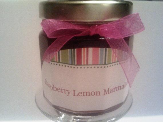 Raspberry Lemon Marmalade-4 oz //Summer Wedding-Bridal Shower Favors/ Baby Favor