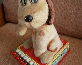 Tin Toy Dog  1960