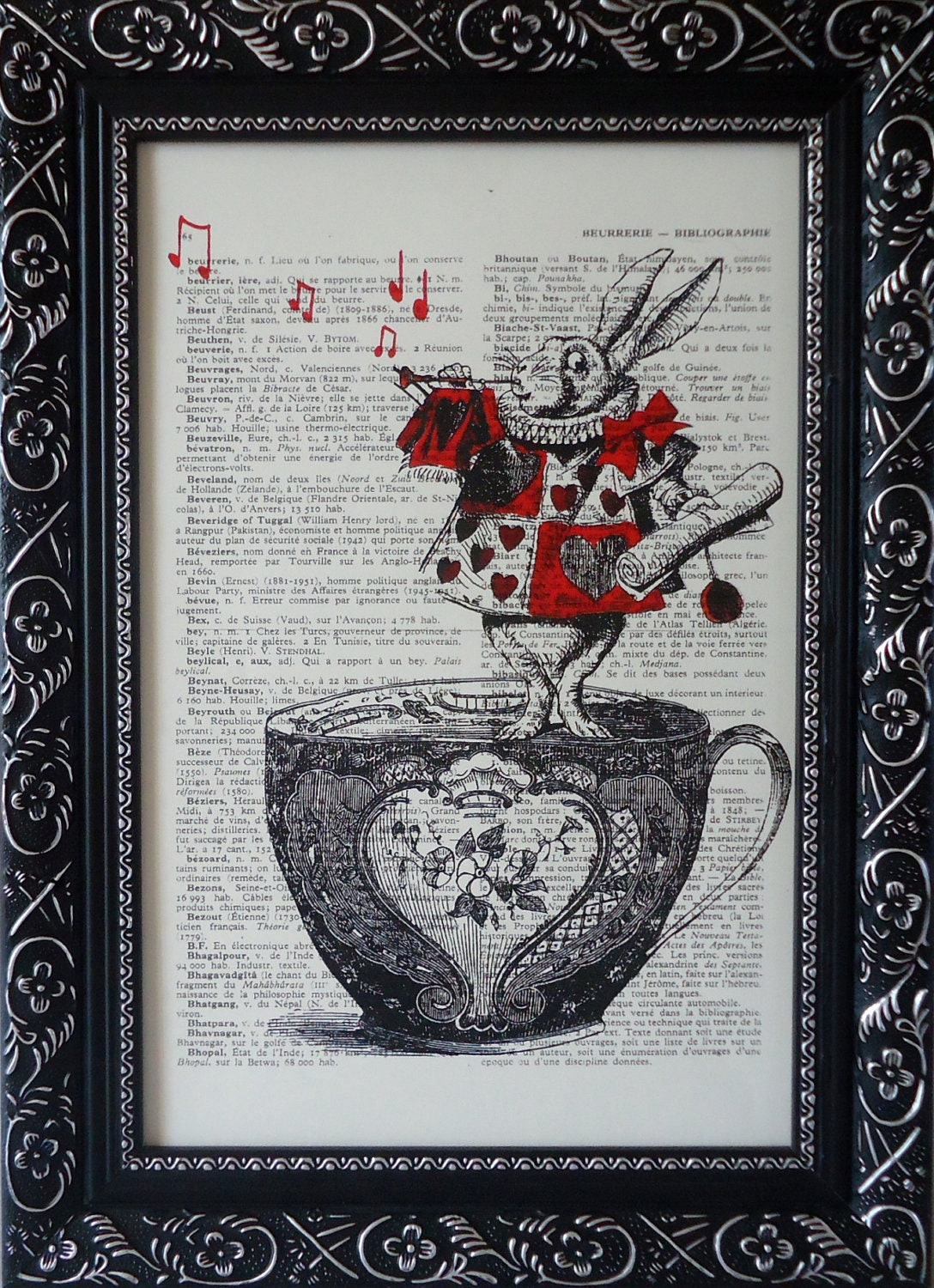 Alice In Wonderland Decorations Print On An By Frenchprints