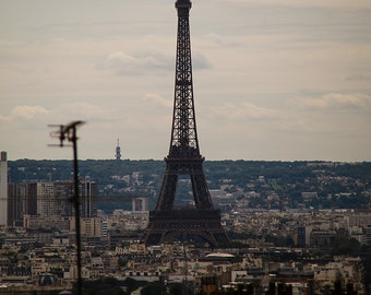 Dreamy Eiffel Tower Paris France Fine Art Print