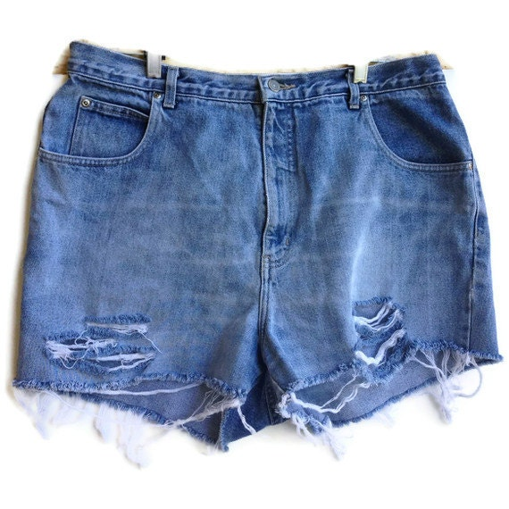 Size 18 High Waisted Shorts