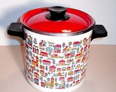 Vintage Country Village 4 QT Steamer and Stock Pot