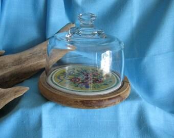 Vintage   goodwood  ceramic  cloche   CHEESE