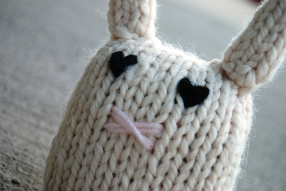 Knit Bunny Nugget Easter Plush Children's Toy