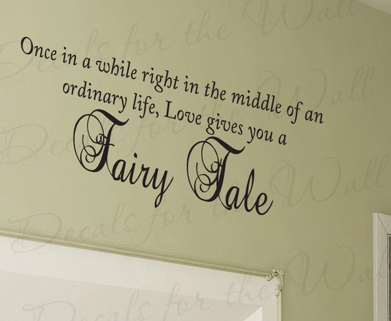 Once While Love Gives You Fairy Tale Bedroom Family