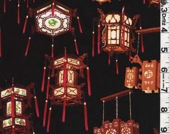 "FQ 18"" x 22"" OOP Asian Lanterns"