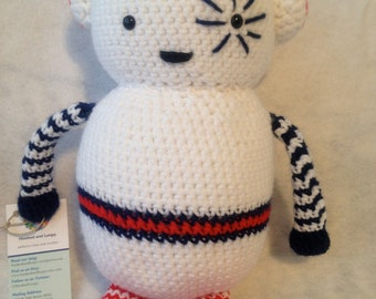 Amigurumi Robot Man Stuffed Toy