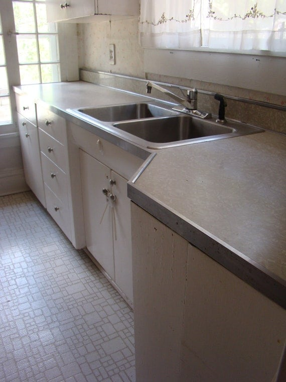 Items similar to vintage youngstown kitchen cabinets on etsy for Kitchen cabinets youngstown ohio