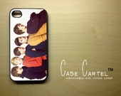 Apple iPhone 4 4G 4S 3D Printed Matte  Case Skin Cover Cute One Direction Design Available in Black, Clear or  White Hard Case.