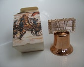 1970's Avon Collectible Liberty Bell Decanter with Deep Woods Aftershave