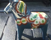 Vintage Wooden Painted Horse