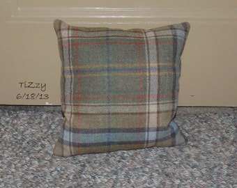 """ON SALE! - Plaid Decorative Pillow - 12""""x12"""""""