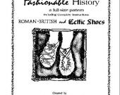 Roman-British Shoe Pattern by Queta's Closet No.111