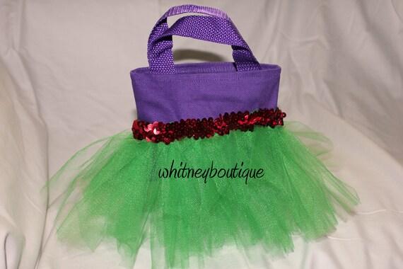 Ariel Mini Tutu Tote bag