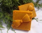 Homemade Christmas Soap, Raw Honey Goat Milk Oatmeal Soap, Handmade