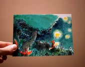 Lampions -  Postcard