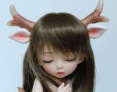 Deer antlers with ears: Magnetic Fantasy Parts (white)