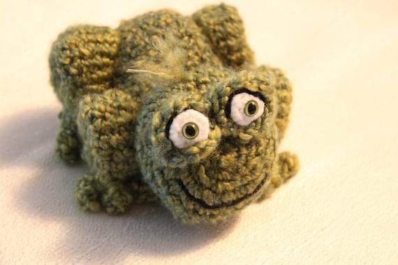 Amigurumi Crochet Pattern Green Frog