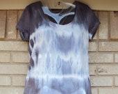 WOMEN'S  custom tye dye t-shirts Reg and plus size