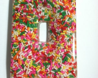 Sprinkle Light Switch Plate Cover