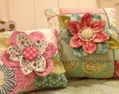 Embroidered Flower Pillow PDF Pattern