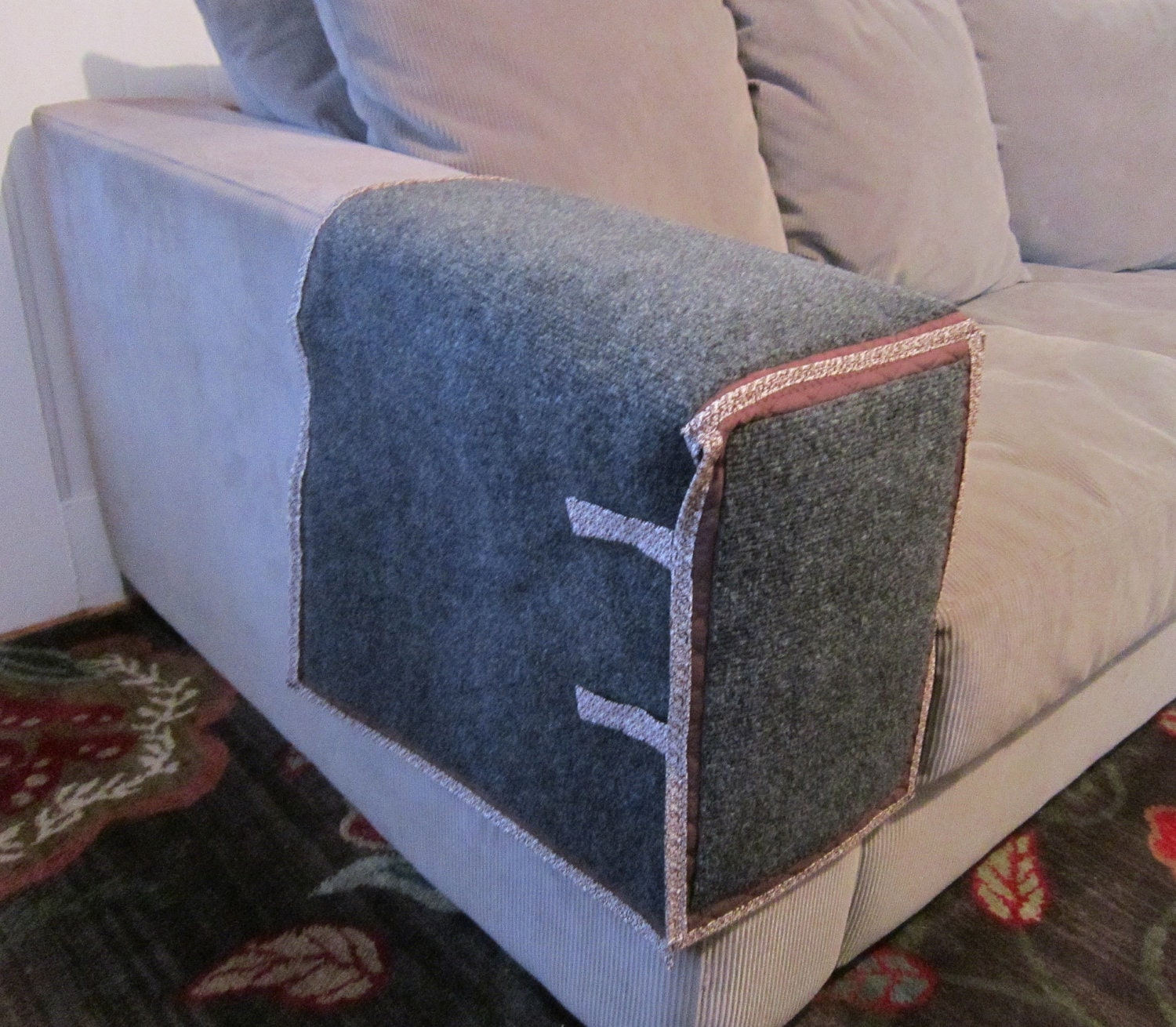 Cat Scratching Couch or Chair Arm Protection