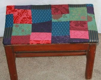 Old Stool New Patchwork Top