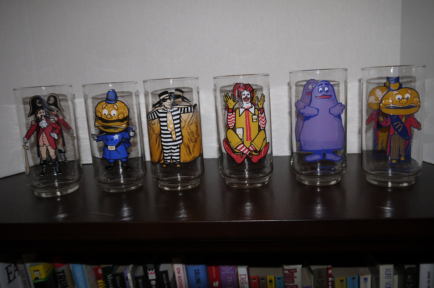Mcdonalds Collector Glasses Value