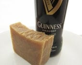Guinness Beer Soap All Natural Homemade Soap One 4.0-4.5 oz Bar Mens Gift Unscented