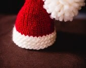 Santa Baby -  Baby Hat - Photography Prop