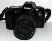Excellent Canon EOS Rebel SLR Film 35mm Camera with Canon Zoom Lens EF 35-80mm 1:4-5.6