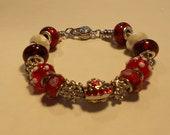 Santa & Jingle bells Charm Bracelet
