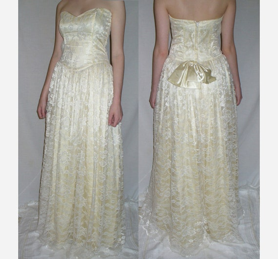 Vintage gunne sax by jessica mcclintock by cheshiresfantasy for Jessica mcclintock wedding dresses outlet