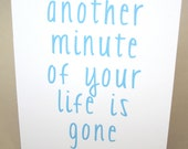 """Funny Birthday Card, Birthday Wishes - """"Another One Gone"""""""