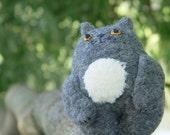 Cat Begemot plush toy