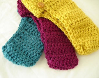 Handmade Crochet Slippers That Stay On