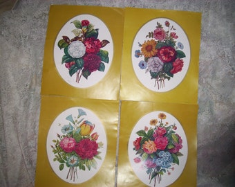 1983 Aspelin Art Galleries Numbered Bouquets Prints