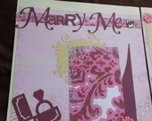 Made to Order Love, Engagement, Wedding CUSTOMIZED 12 x 12 Scrapbook Album