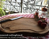 Olive Wood server tray - natural look and with juice groove - Olivenholzbrett