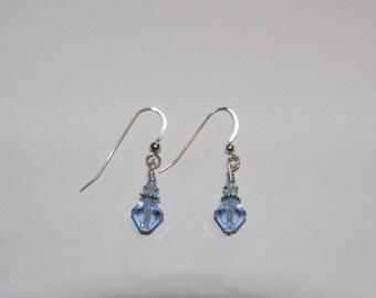 Small Elegant Swarovski Earrings