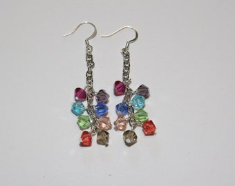 Dangle Swarovski Earrings
