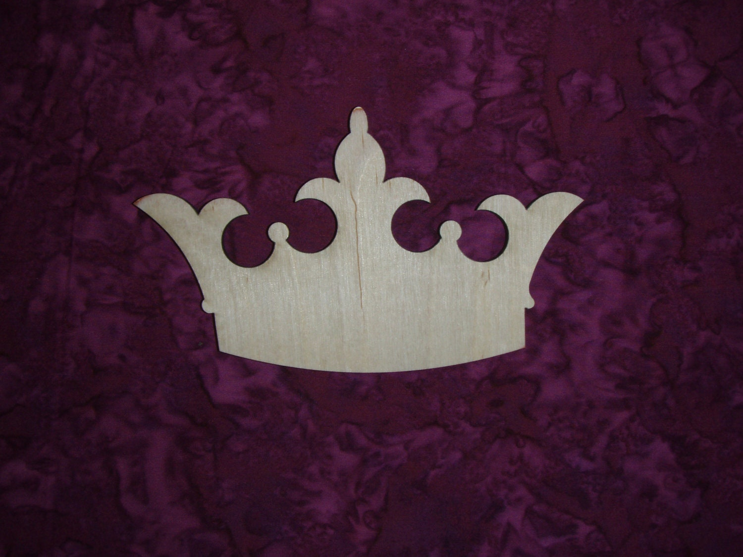 Princess Crown Unfinished Wood Cut Out By ArtisticCraftSupply