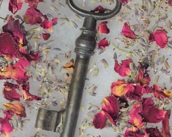Vintage Old Key Necklace