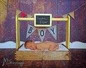 Photography Prop Baby Basket...Baby Furniture...Photo Prop...Baby Basket...Newborn Photo Prop